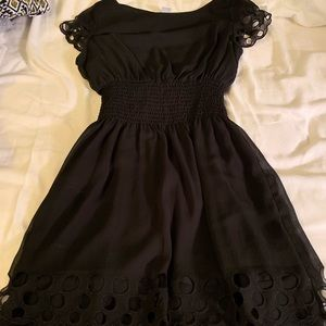 black bar III dress